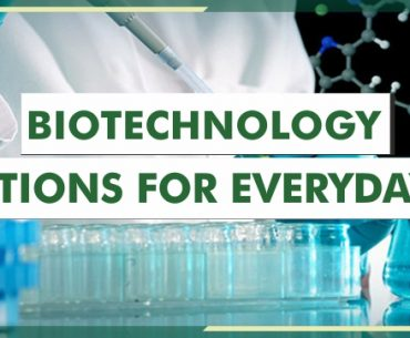 Biotechnology Solutions For Everyday Life