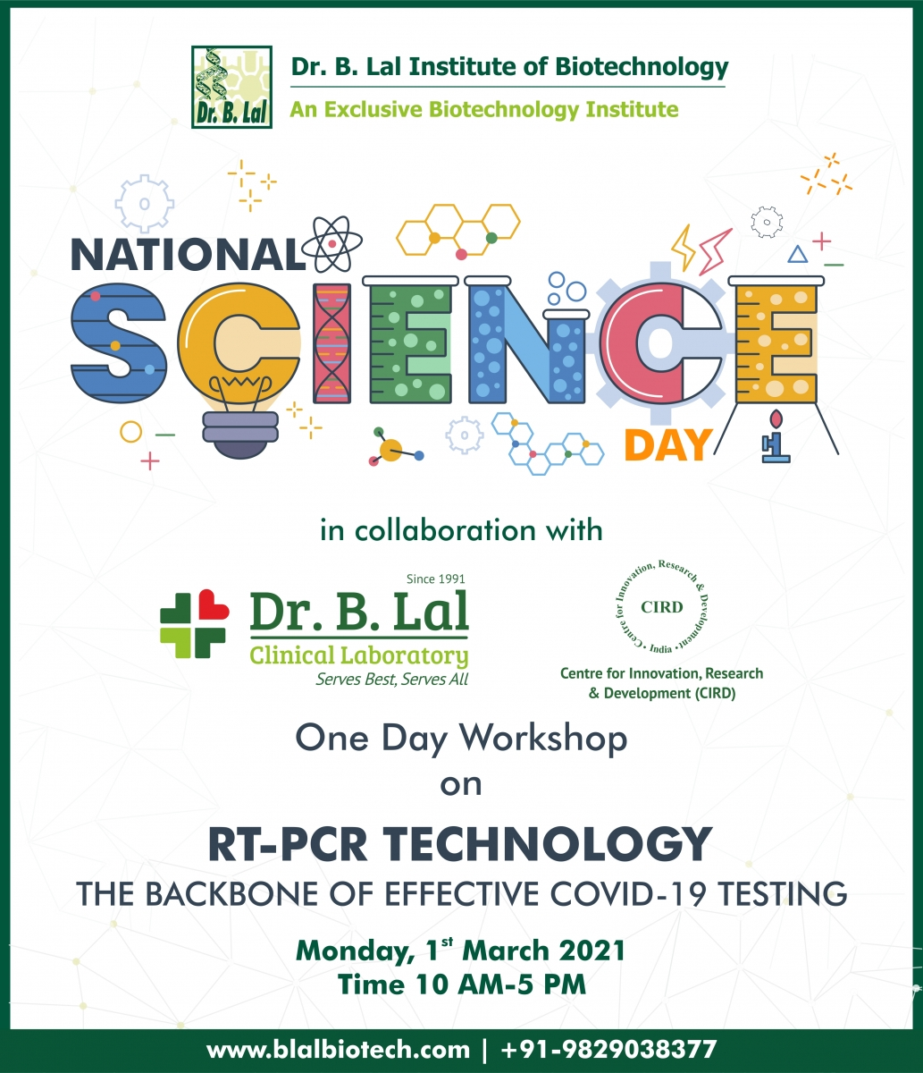 RT-PCR Technology: the backbone of effective COVID-19 testing | #NationalScienceDay