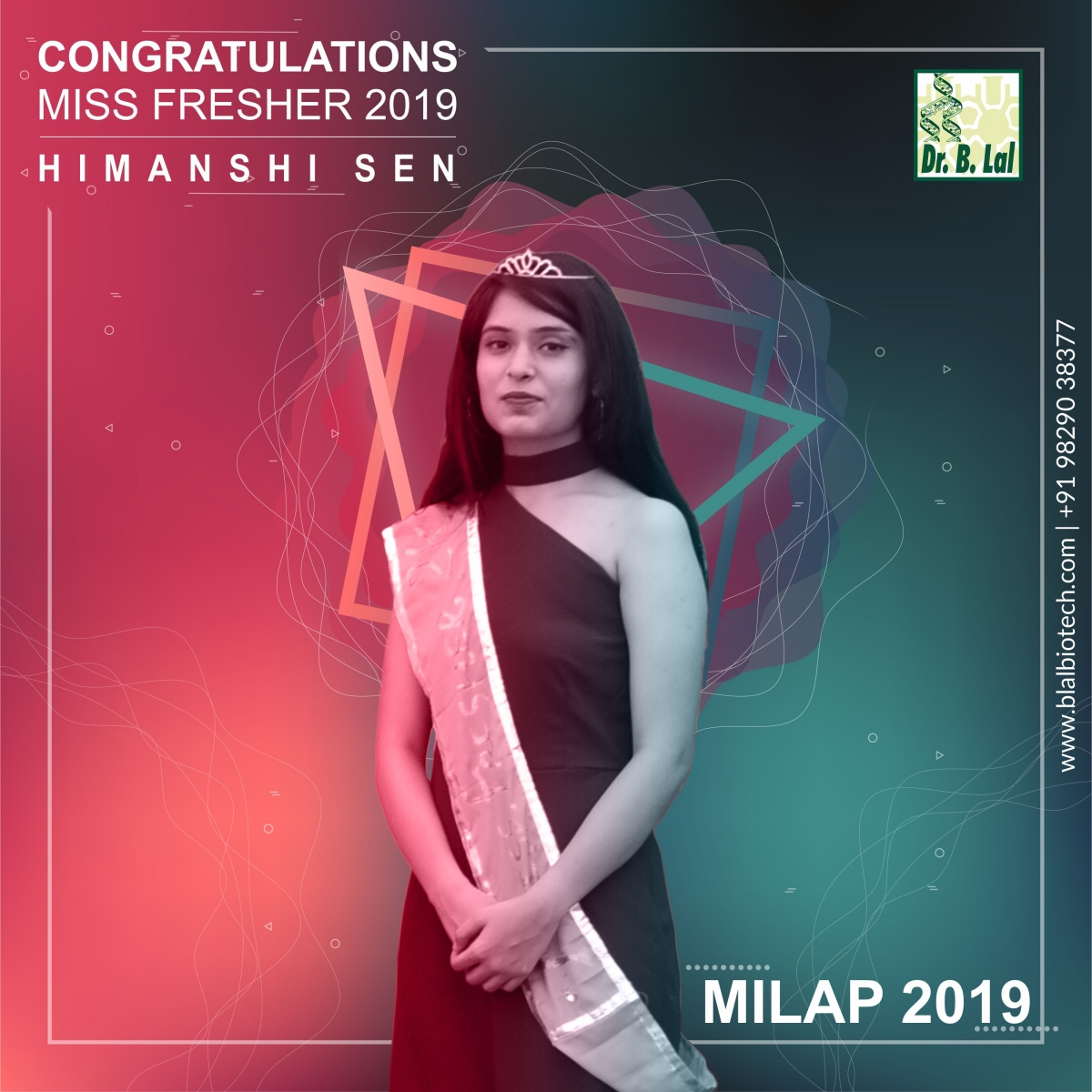 Mr. & Ms. Freshers | Milap 2019