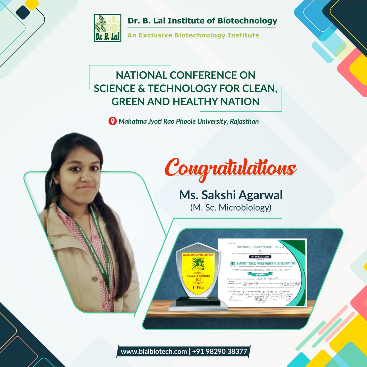 National Conference on Science and Technology for Clean, Green and Healthy Nation