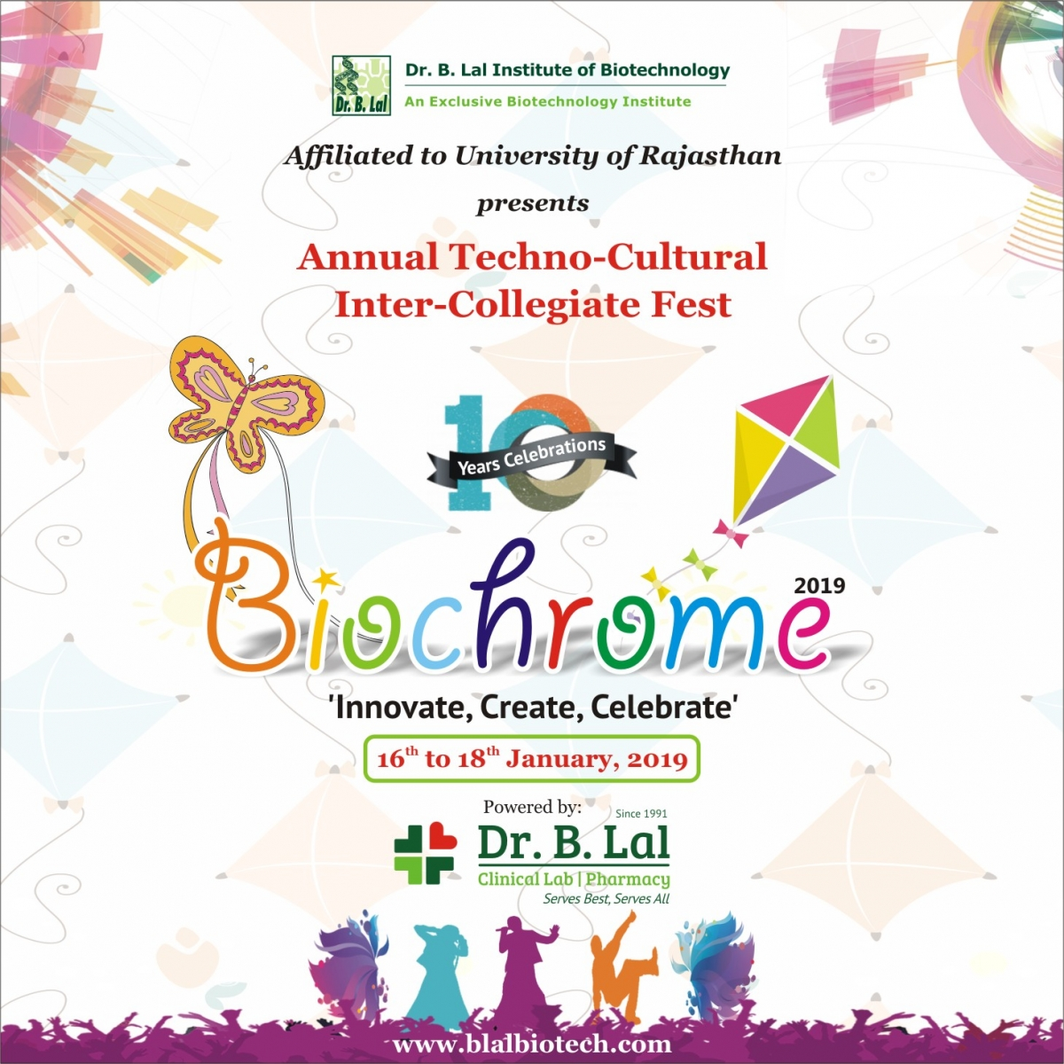 Biochrome 2019 - Innovate, Create, Celebrate