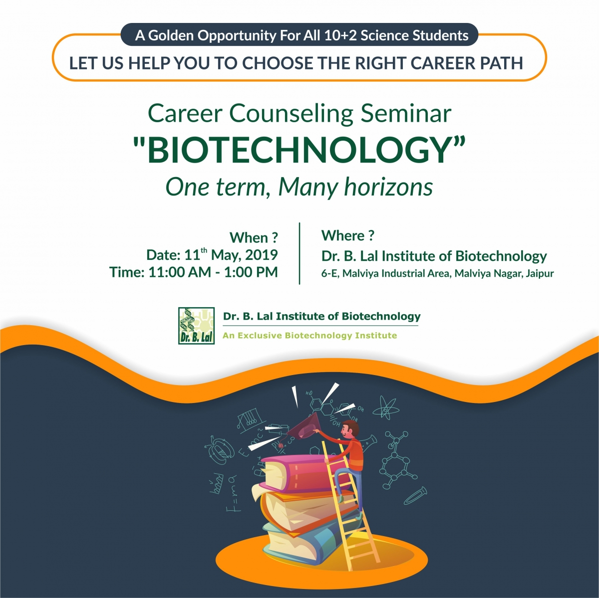 Career Counseling Seminar | Biotechnology: One term, Many horizons