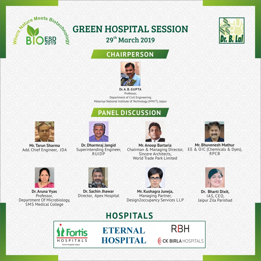 Green Hospital Session | BioESD2019