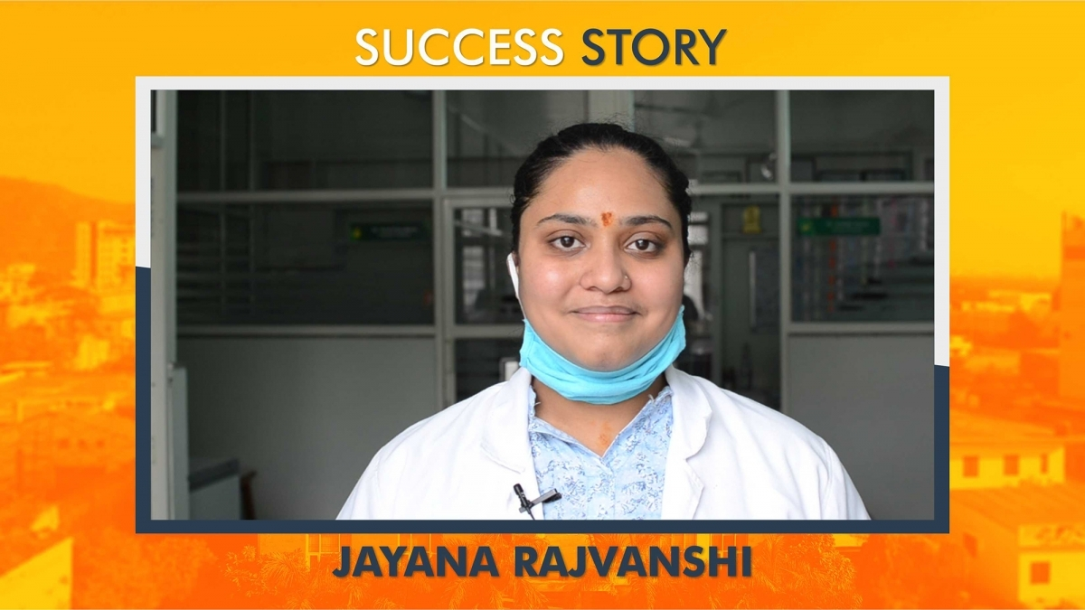 Success Story | Jayana Rajvanshi, Alumna of Dr. B. Lal Institute of Biotechnology, Jaipur |Rajasthan