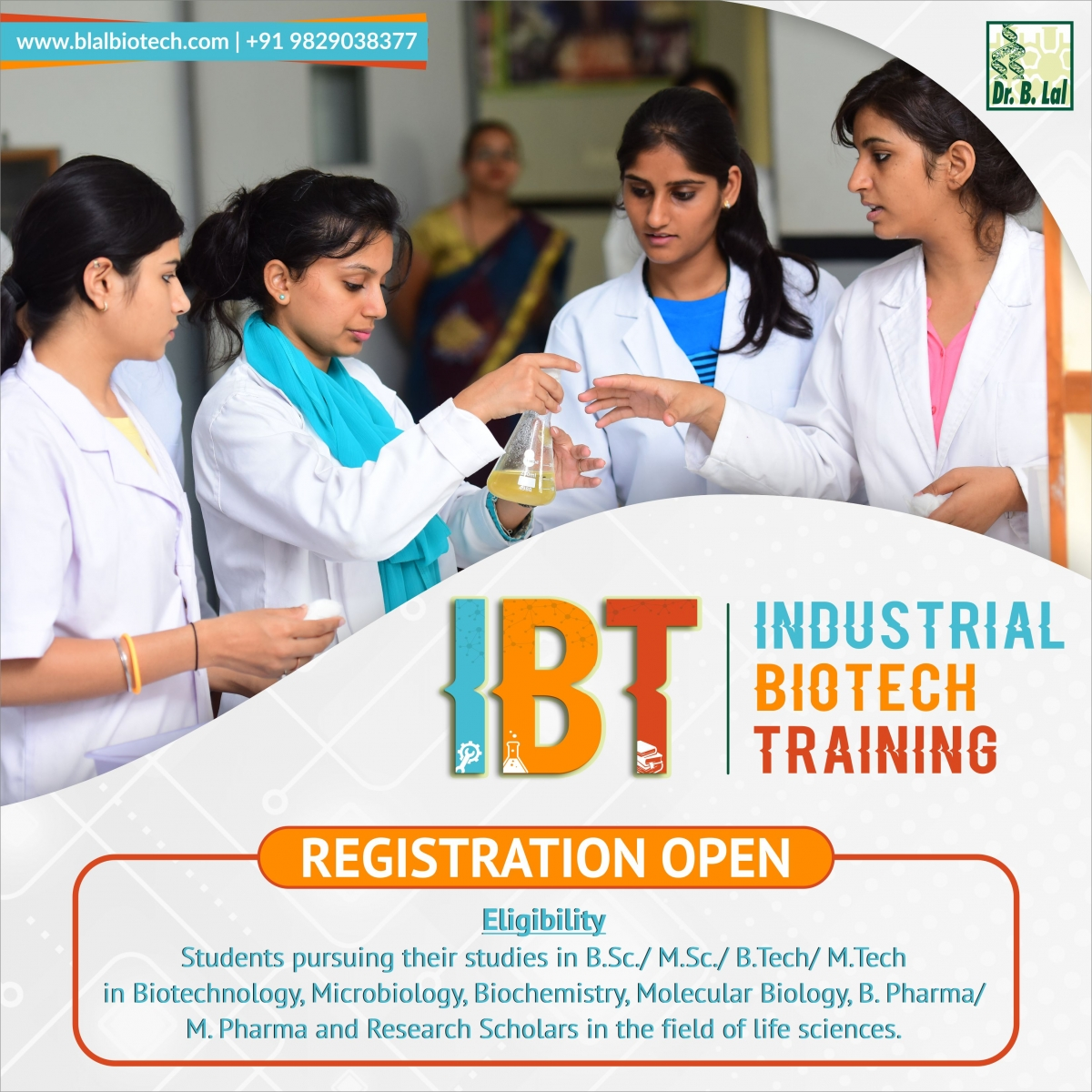 Industrial Biotech Training Program 2019 | #BIBTJaipur
