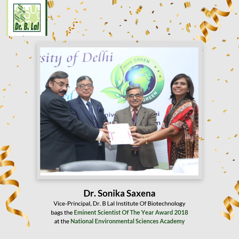 Eminent Scientist Of The Year Award 2018