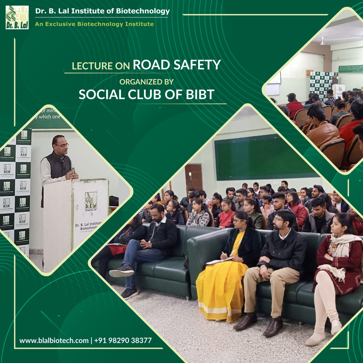 "Guest lecture on ""Road Safety"""