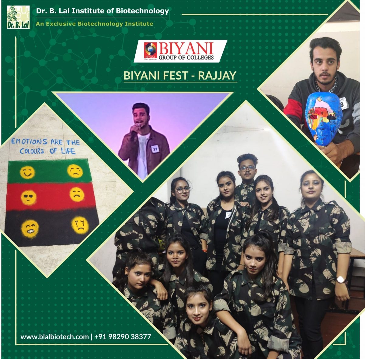Biyani Group of Colleges Jaipur Fest - RAJJAY