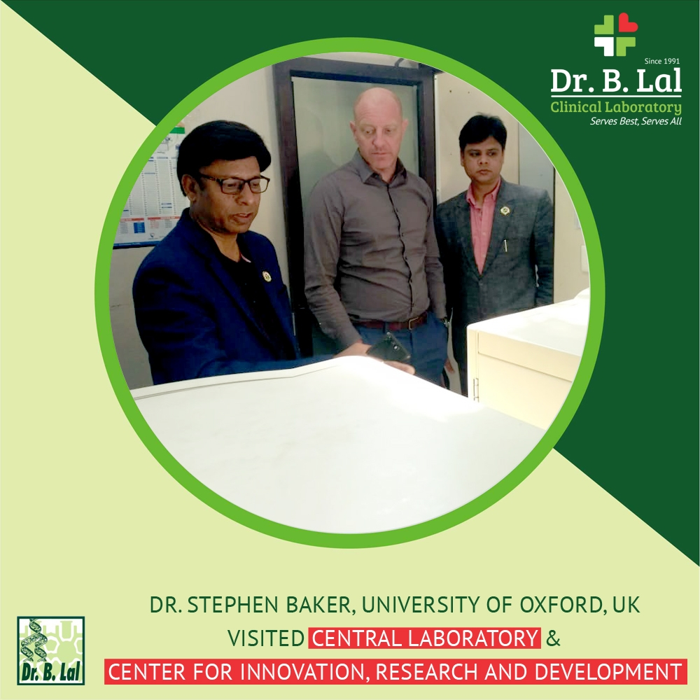 Dr. Stephen Baker, Professor of Molecular Microbiology at the University of Oxford, UK visited us!