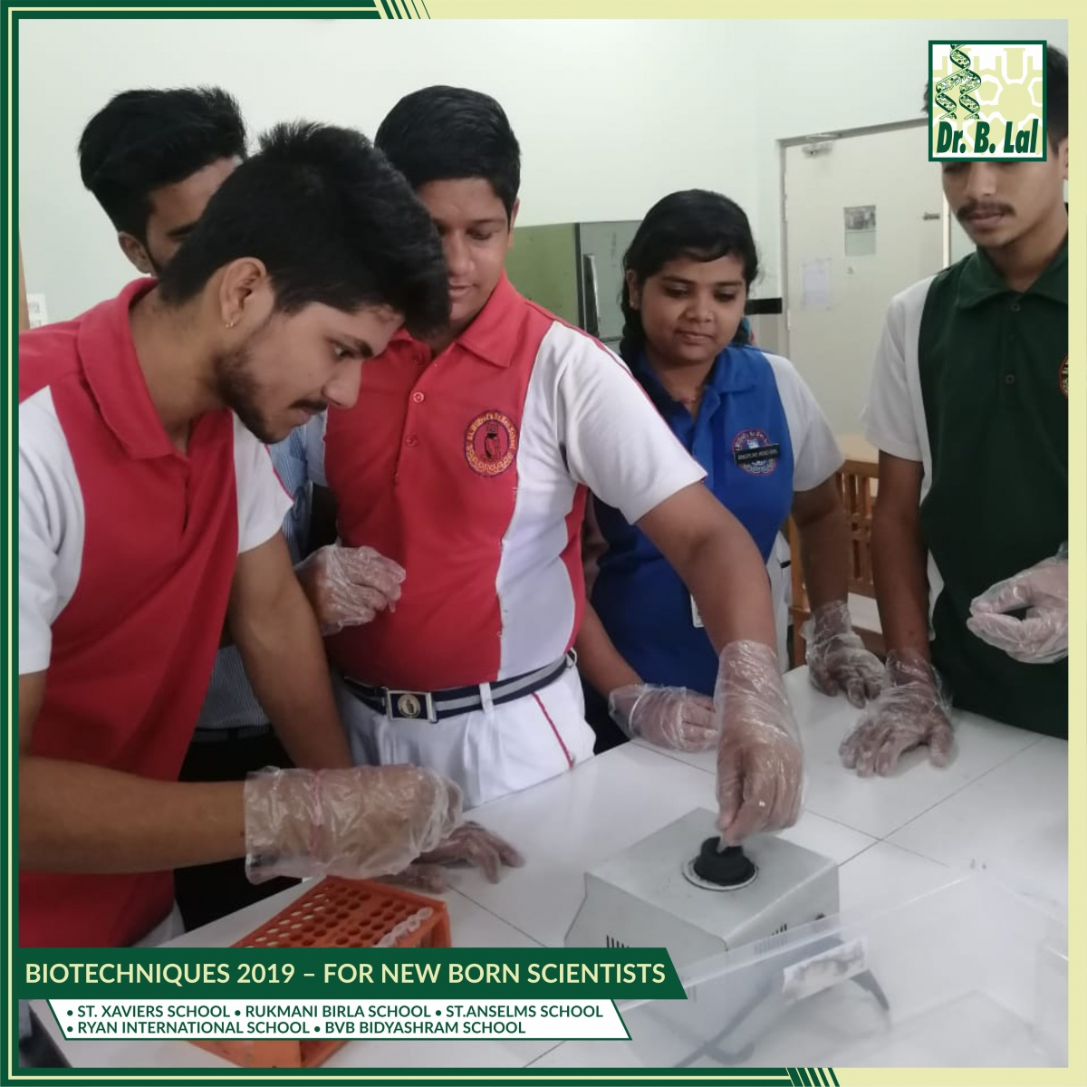 Biotechniques 2019 – For New Born Scientists