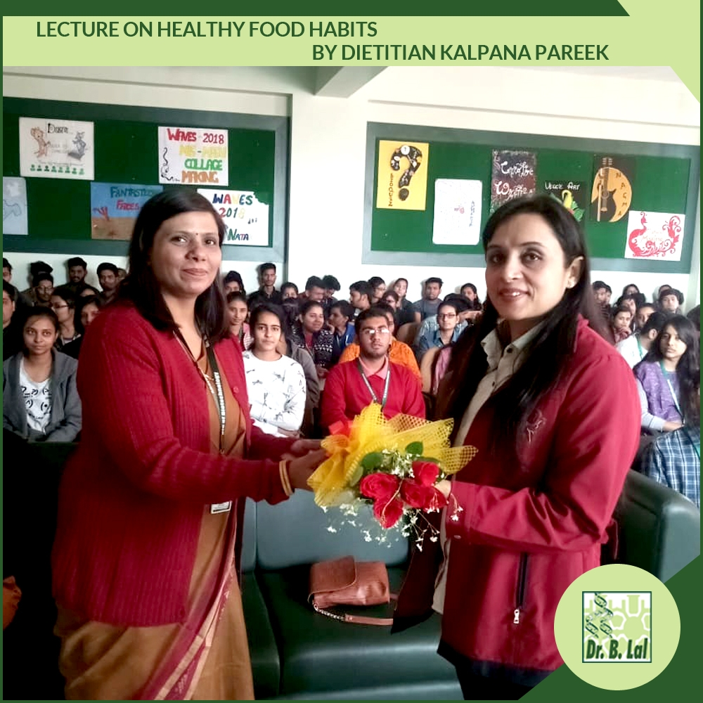 Healthy Food Habits - Lecture by Dietitian Kalpana Pareek
