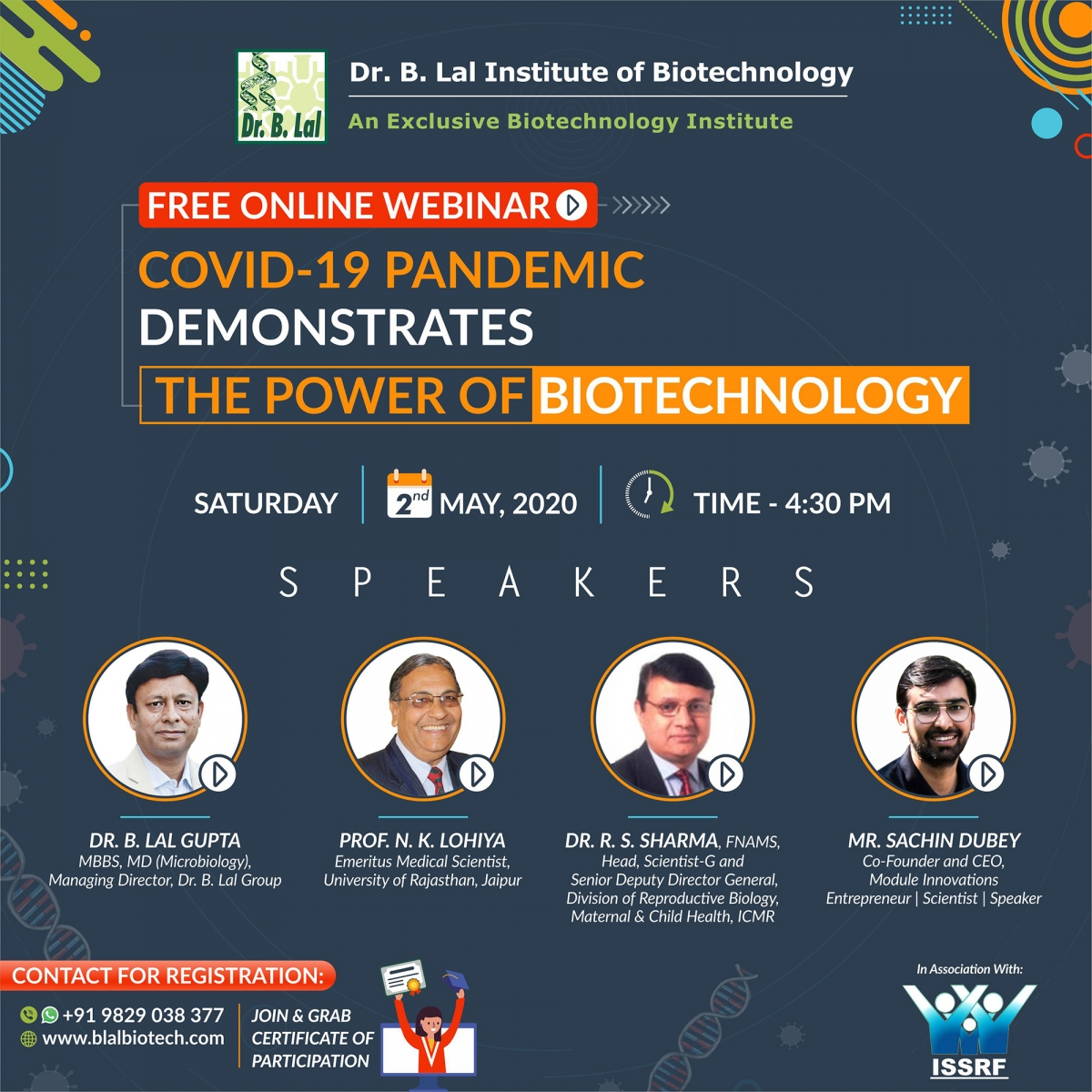Webinar: COVID-19 Pandemic Demonstrates The Power of Biotechnoloy