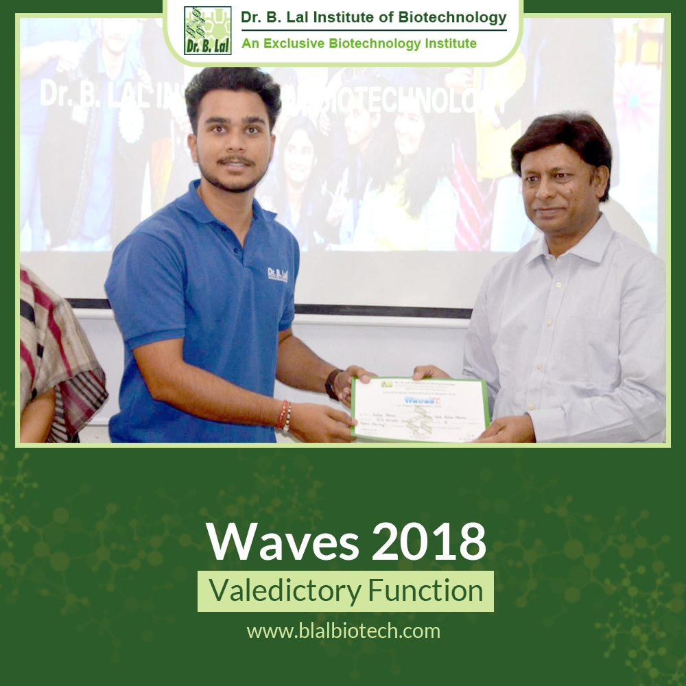Waves 2018 Valedictory Function